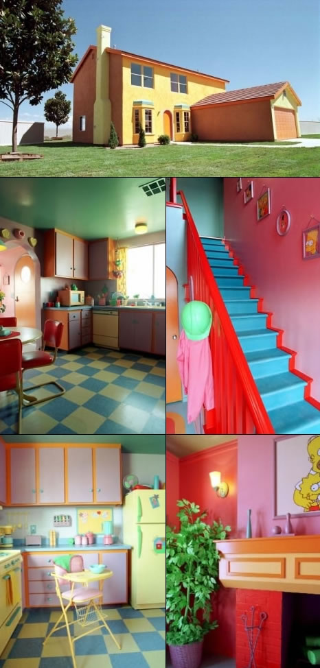 Would You Live in a simpsons House